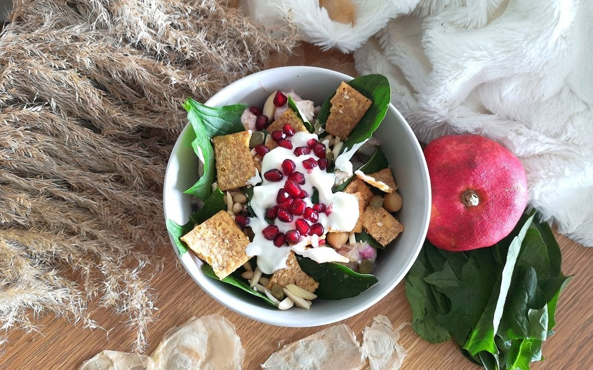 crispy salad made in Australia photo from the top
