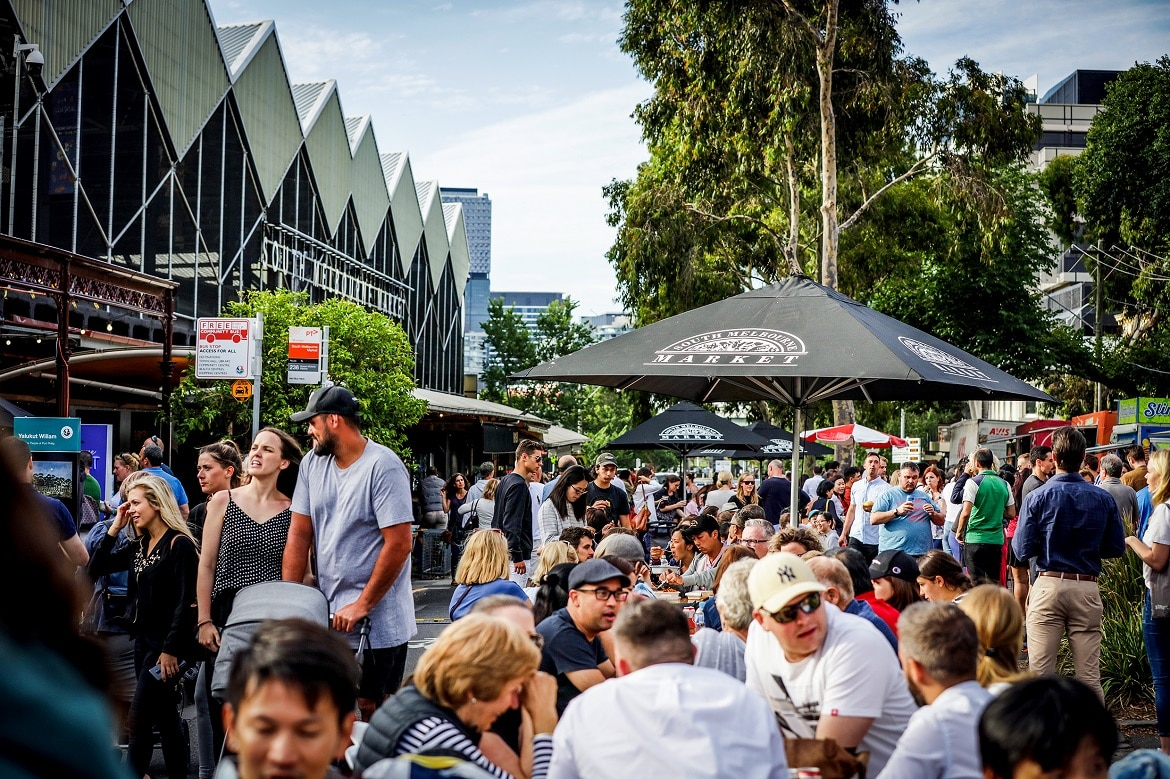 South Melbourne Market, one of the best food markets in Melbourne