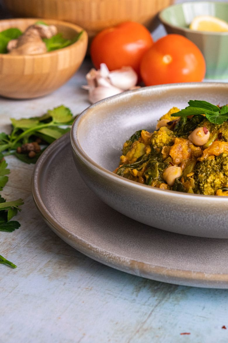 one-pot chickpea curry